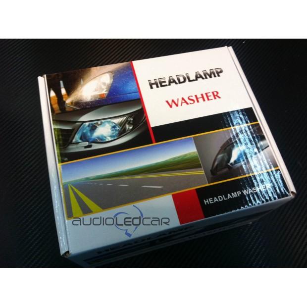 Kit Scheinwerferwaschanlage Universal für auto und motorrad