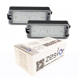 Lichter LED-kennzeichenhalter Seat Toledo III 04-09