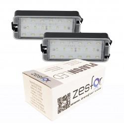Lichter LED-kennzeichenhalter Seat Toledo II 99-06