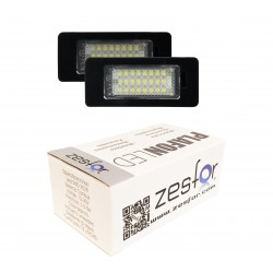 Luzes de matricula diodo EMISSOR de luz Skoda Rapid de 2012-presente