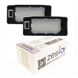 Lichter LED-kennzeichenhalter Skoda Fabia II (2010-heute)