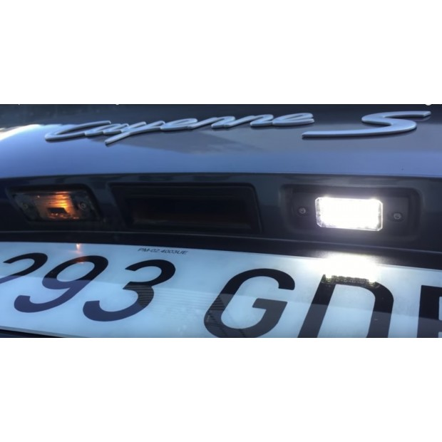 Luces matricula LED Skoda Superb II, 3T familiar (09-13)