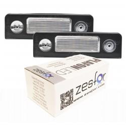 Lichter LED-kennzeichenhalter Skoda Roomster (06-13)