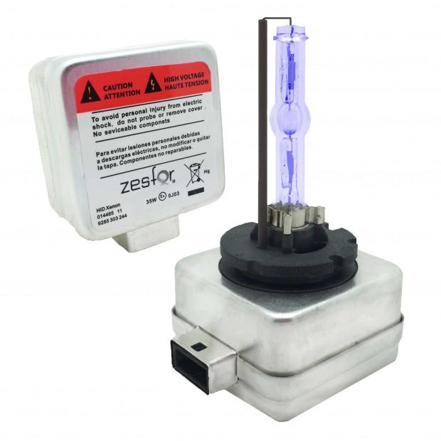 Par de lâmpadas D3S 4300k ZesfOr® para reposição xenon original