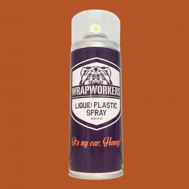 Spray pintura plástica ROJO MATE marca WrapWorkers