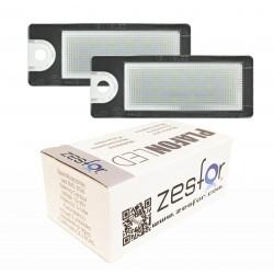 Luzes de matrícula diodo EMISSOR de luz para Volvo S60 (01-06)