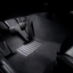 La retombée de plafond intérieur à led Audi A5