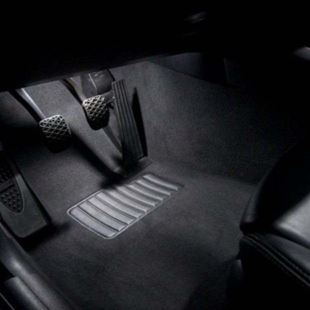 La retombée de plafond intérieur à led Audi A6 C6