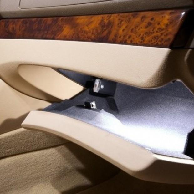 La retombée de plafond intérieur à led Audi A7