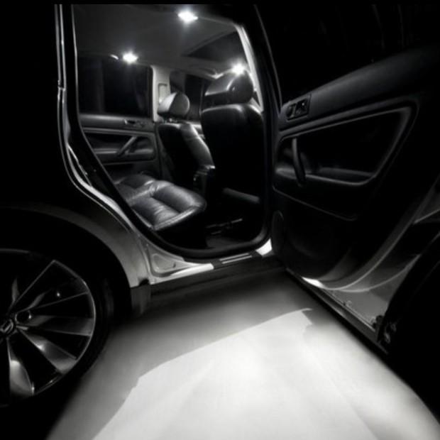 La retombée de plafond intérieur à led Mercedes Maybach W240