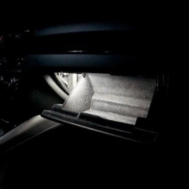 La retombée de plafond intérieur à led Porsche 9PA1 Cayenne 07-10