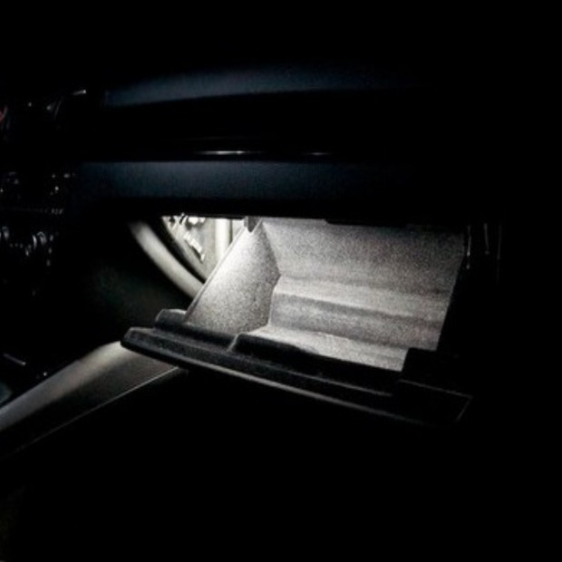 La retombée de plafond intérieur à led Skoda Superb II (2008-présent)