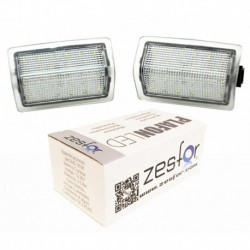 Plafones interior led Mercedes Clase C W204