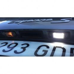 Plafons matrícula diodo EMISSOR de luz Ford Fiesta MK V (2001-2009)