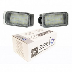 Luzes de matrícula diodo EMISSOR de luz para o Ford Kuga (2008-)