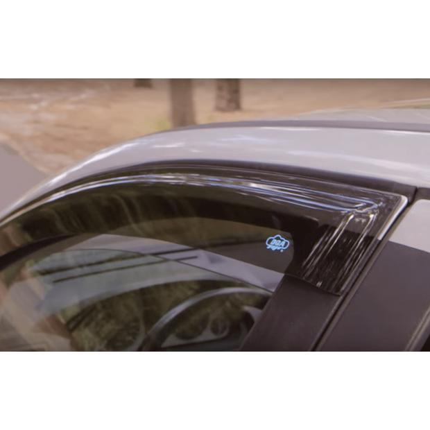 Juego de 2 deflectores de viento fabricados para Mercedes Benz Vito Viano Clase V W447 2014 2015 2016 2017 2018 2019 2020 2021 2022 protector de lluvia parasol