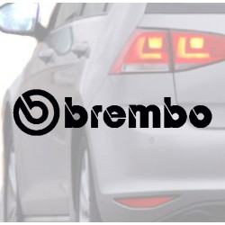 Sticker for car BREMBO black