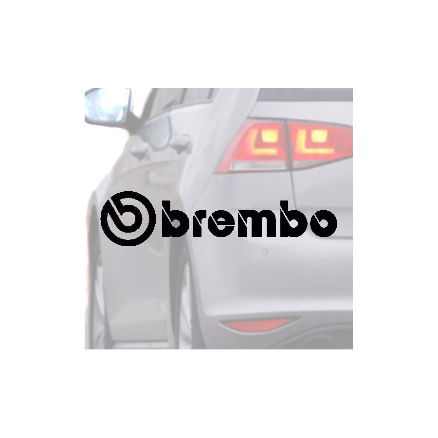 Autocollant pour voiture de BREMBO noir