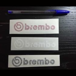 Aufkleber für auto BREMBO schwarz