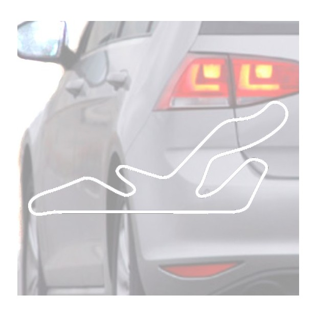 Sticker for car Automobile-white
