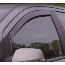 Deflectors air Mitsubishi L 200 Triton Club Cab, 2 door (2006 - 2015)