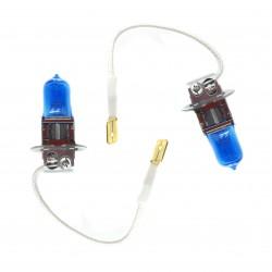 Bombillas H3 efecto xenon (5000ºk)
