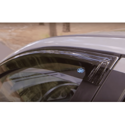 Defletores de ar Renault Kadjar, 2 portas (2015 -)