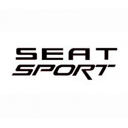 Sticker for car Seat Sport black