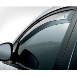 Juego de 4 deflectores de viento para Volkswagen S60 4 puertas SALOON//Sed/án 2001 2002 2003 2004 2005 2006 2007 2008 2009 vidrio acr/ílico viseras laterales de vidrio OEMM