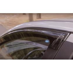 Defletores de ar Toyota Hilux Duble Armário, 4 portas (2005 - 2015)