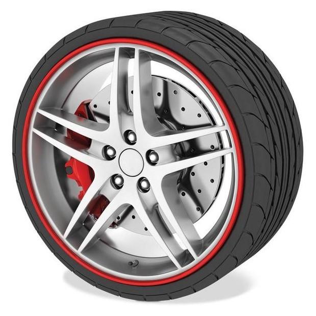 Protecteur de pneu Rouge - RimSavers®