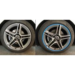 Protecteur de pneus d'argent - RimSavers®