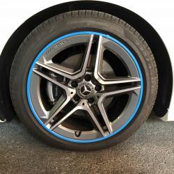 Protecteur de pneu bleu - RimSavers®