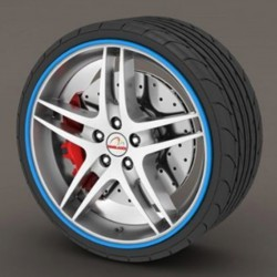 Protector tire blue - RimSavers®