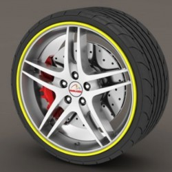 Protector tire yellow - RimSavers®
