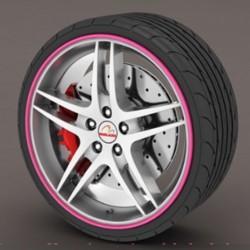Protetor de aro rosa - RimSavers®