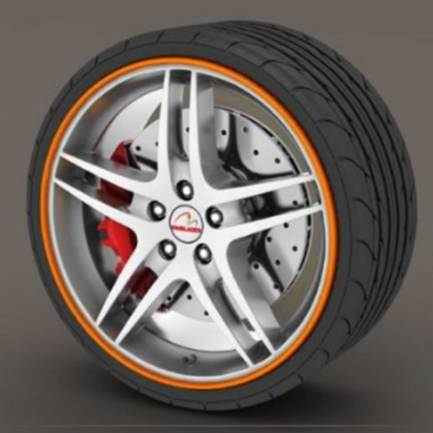 Protector tire orange - RimSavers®