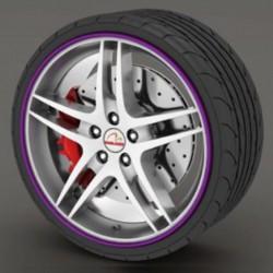 Protecteur de pneu violet - RimSavers®