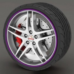 Protector tire purple - RimSavers®