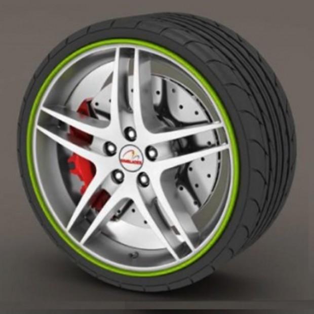 Protecteur de pneu vert - RimSavers®