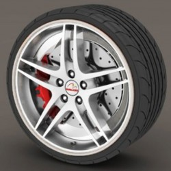 Protector tire white - RimSavers®