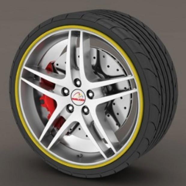 Protettore dei pneumatici bronzo - RimSavers®