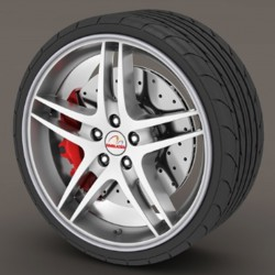 Protector tire dark gray - RimSavers®