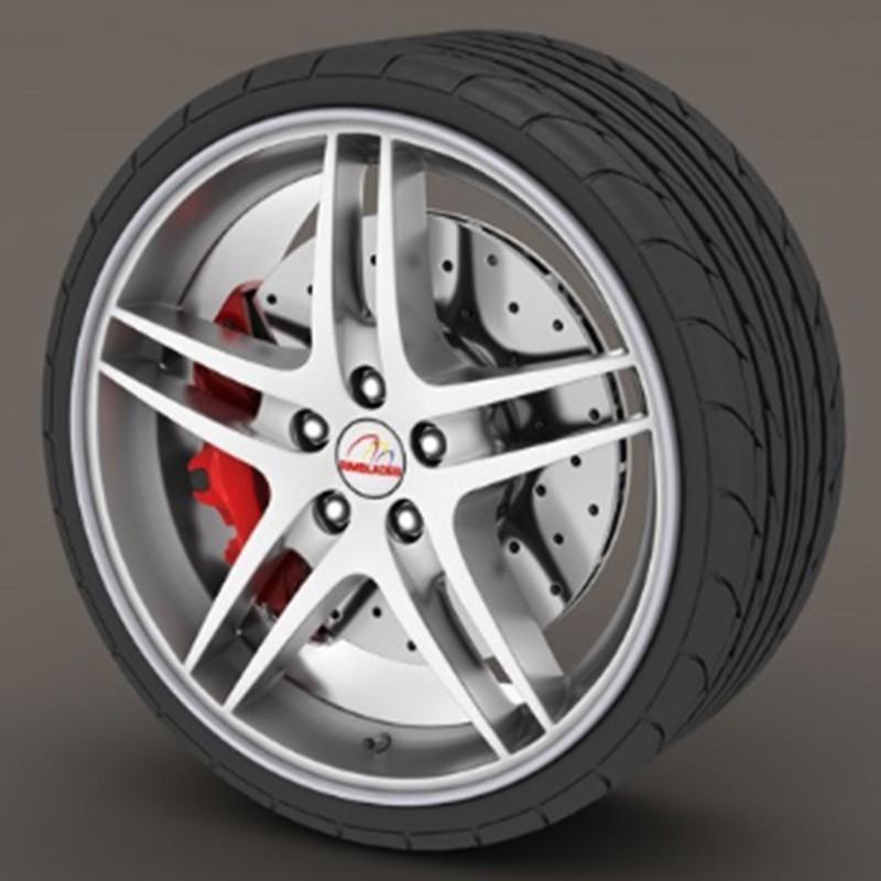Protecteur de pneu gris foncé - RimSavers®