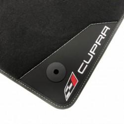 Tappetini in Pelle-Seat Leon MK2 (2005-2012) finitura Cupra