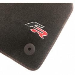 Floor mats, Fr Seat Leon MK3 (2012-2018)