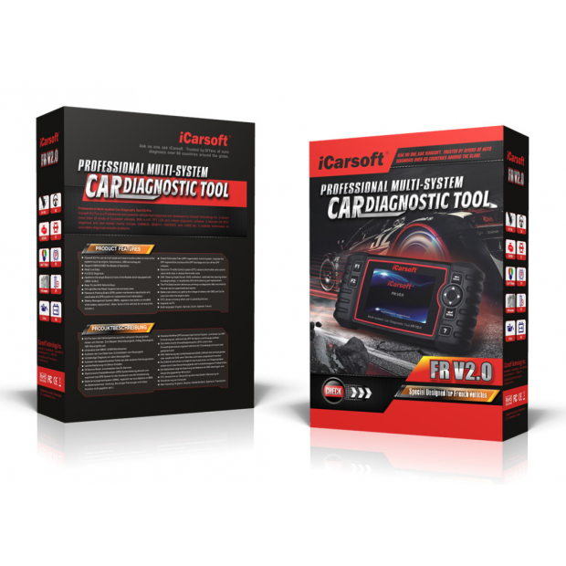 Machine Diagnosis Icarsoft FR V2.0 version 2019