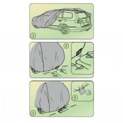 Funda coche sedan coupe pequeño