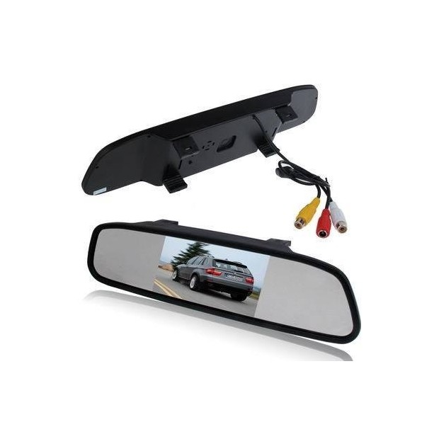Rearview mirror display car parking HD