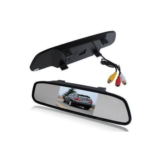 Rückspiegel mit display - parkplatz HD